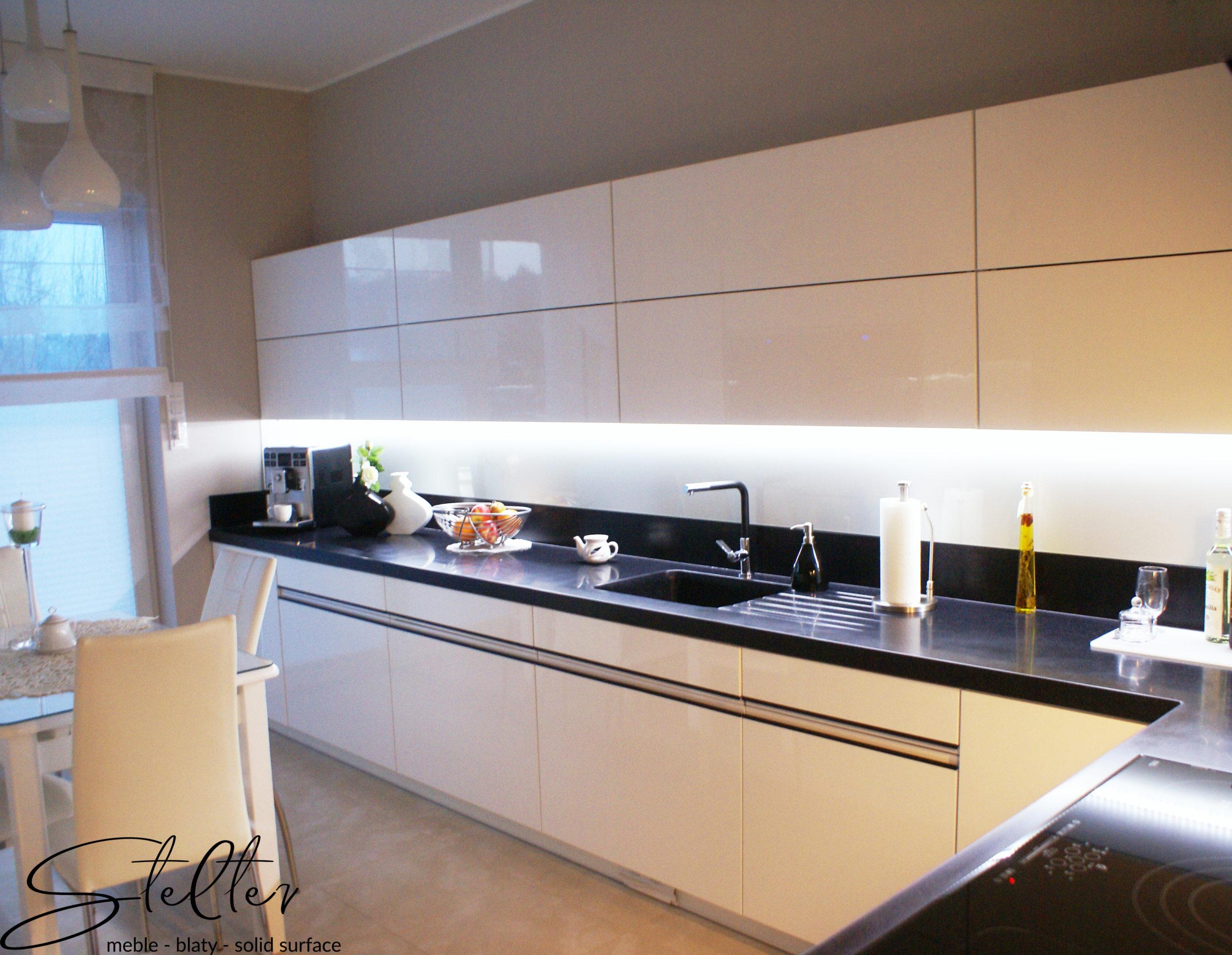 Meble kuchenne na wymiar – przykładowa realizacja nr 2