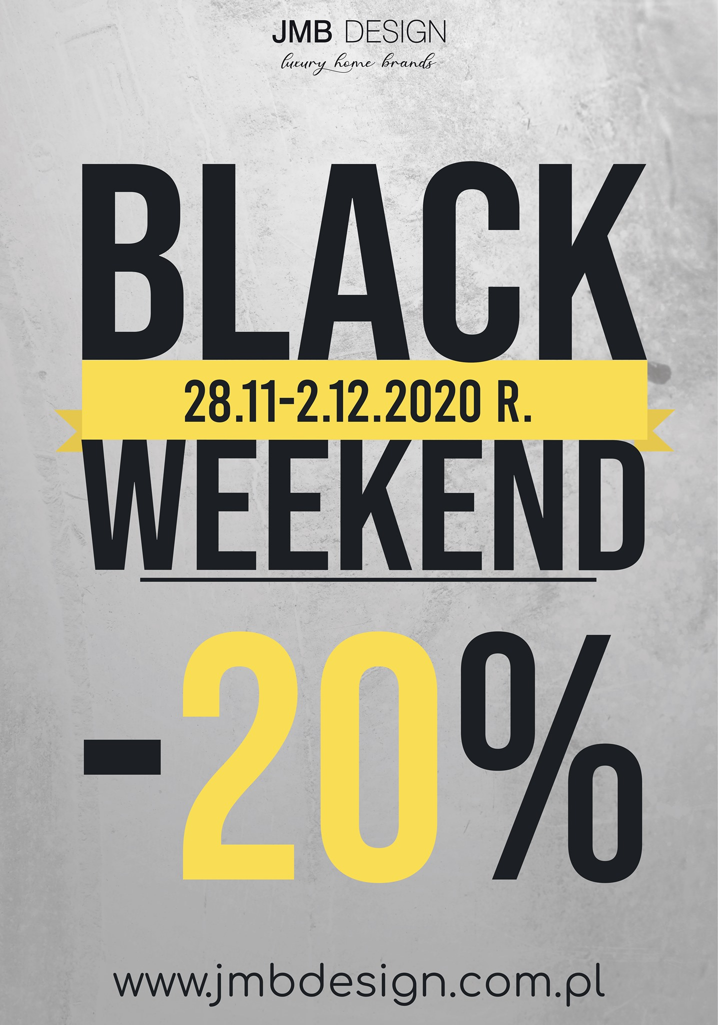 #BlackWeekend w salonie JMB Design